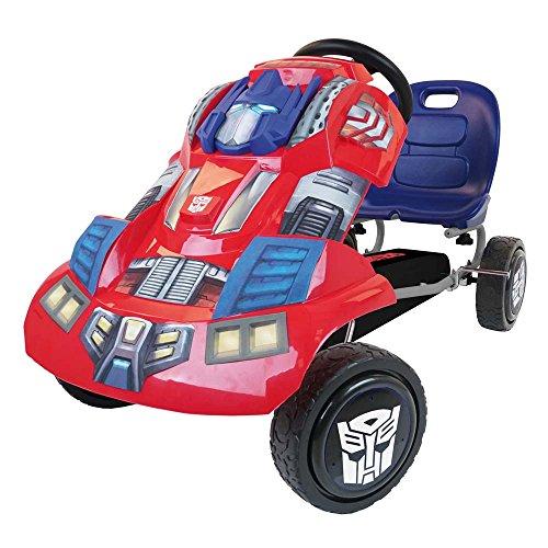 Hauck T90401 - Transformers Go-Kart Optimus Prime, blau/rot (Optimus Prime Spielzeug Metall)
