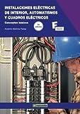 Instalaciones Eléctricas de Interior, Automatismos y Cuadros...