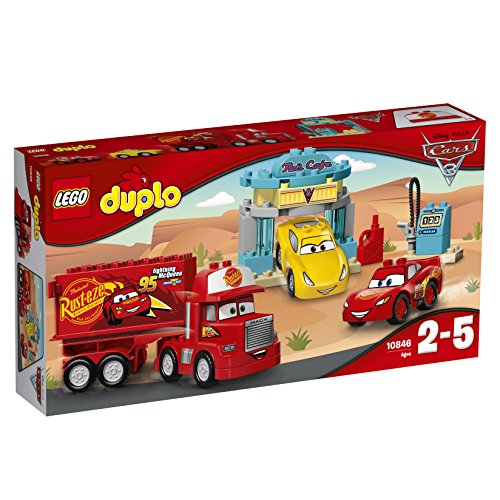 LEGO Duplo 10846 - Flos Café, Spielzeug für Kleinkinder (Cars Lego-sets Disney)