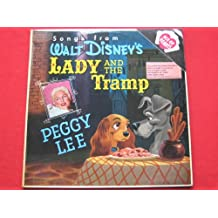 Peggy Lee Lady And The Tramp LP Ace Of Hearts AH70 EX/VG 1960s