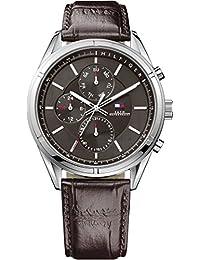 Tommy Hilfiger Herren-Armbanduhr Analog Quarz Leder 1791126