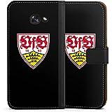 Samsung Galaxy A5 (2017) Flip Tasche Schutz Hülle Walletcase Bookstyle VfB Stuttgart Fanartikel 1893 Fußball