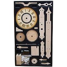 Mechanische Skelettuhr mit Holzräderwerk Eble -Bausatz / Kit Waagbalkenuhr- 1/10