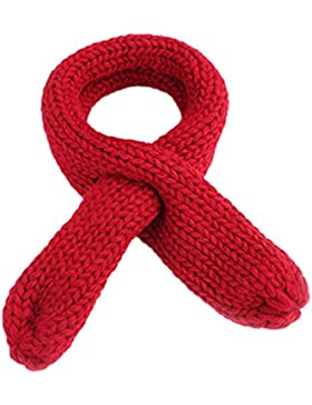 Babybekleidung Schals Longra Herbst Winter jungen Mädchen Schal gestrickt O Ring Soild Keep Warm Halstücher Schals...