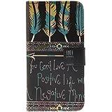 Galaxy A5 (2016) Étui Housse, Meet de pour Samsung Galaxy A5 (2016) étui coque Case Cover smart flip cuir Case à rabat Coque de protection Portefeuille - campanulest