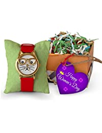Tied Ribbons Women's Day Gift For Daughter Colleague Boss Wife Mom Friend Girlfriend Women's Wrist Watch With...