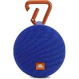 JBL Clip 2 Portable Wireless Bluetooth Speaker with Mic (Blue)