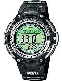 Casio Orologio Digitale al Quarzo Uomo con Cinturino in Resina SGW-100-1VEF