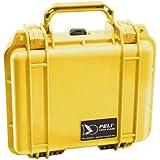 Valise Pelibox 1200 avec renfort en mousse 2015 jaune
