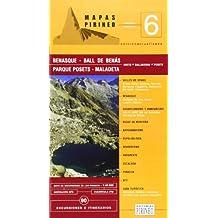 Benasque / bal de benas (guia + mapa) (Cartas Pirineo)