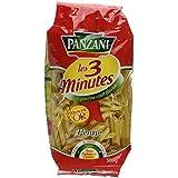Panzani Pâtes Les 3 Minutes Penne Rigate 500 g - Lot de 6