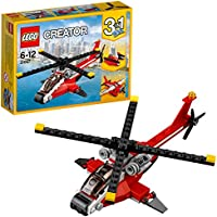 LEGO Creator - L'hélicoptère rouge - 31057 - Jeu de Construction