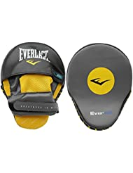 Everlast Unisex Mantis Punch Mitts Sparring Pad Black One Size