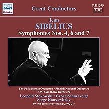 Symphonies n°4, n°6 et n°7