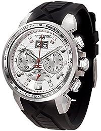 Jorg Gray Herren-Armbanduhr Chronograph Quarz Kautschuk JG5600-24