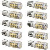 Welsun bombillas LED, blanco frio, 3W, reemplazo de 35W halogen lamp, 260LM, paquete de 10 ( Color : Blanco Frío , Talla : G6 )