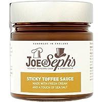 Joe & Sephs Joe & Seph De Salsa De Caramelo Pegajoso 230g (Paquete de 6)