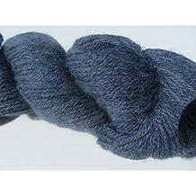 Juniper Moon Herriot Heathers Baby Alpaca color 1005piedra azul 100G madejas