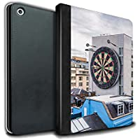 STUFF4 PU Leather Book/Cover Case for Apple iPad 9.7 (2017) tablets / Bullseye Design / Imagine It Collection
