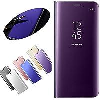 Nadoli Galaxy S6 Edge Spiegel Hülle,Mirror Effect PU Leder Hülle Transparent Case Cover Handytasche Book PC Hart... preisvergleich bei billige-tabletten.eu