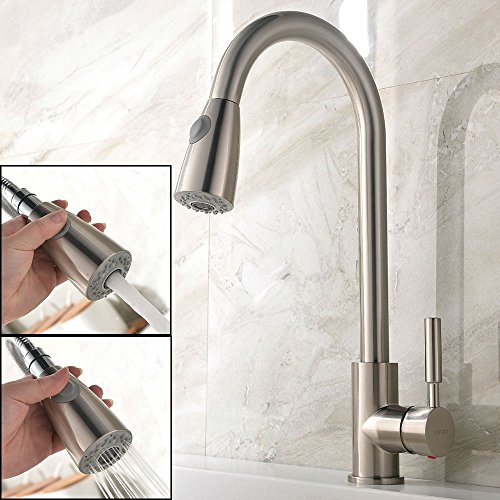 Pull Out Kitchen Mixer Tap: Amazon.co.uk