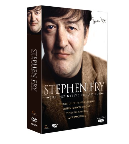 Stephen Fry Collection: Life of the Manic Depressive/Wagner and Me/In America/Last Chance To See