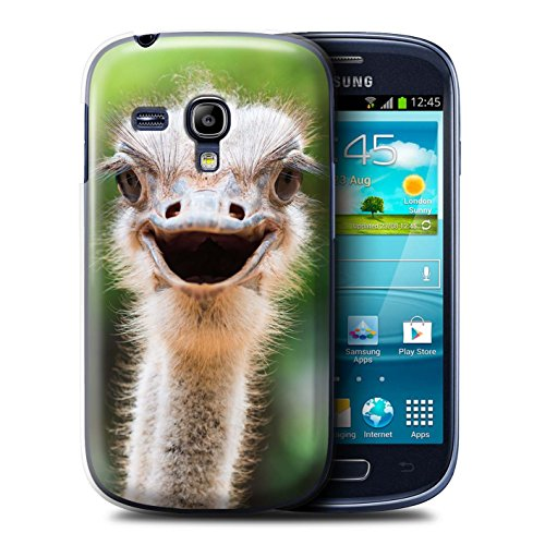 Stuff4 Hülle / Case für Apple iPhone SE / Faultier Muster / Wilde Tiere Kollektion Strauß / Emu