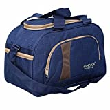 Kuber Industries Travel Duffle Luggage Bag, Shoulder Bag with Inner Pocket (Blue)