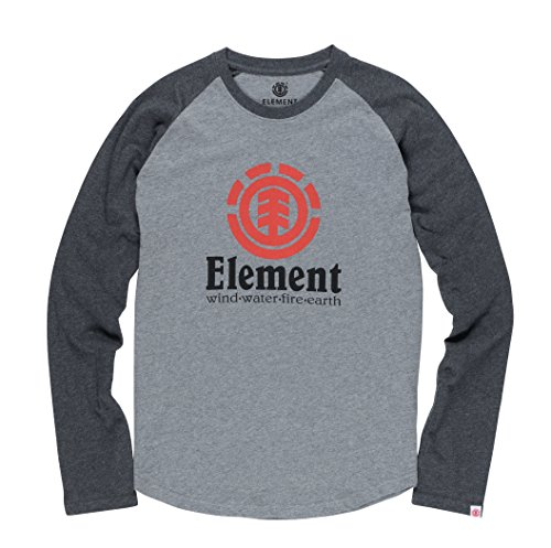 Element Herren Vertical Raglan Longsleeve Grey Heather