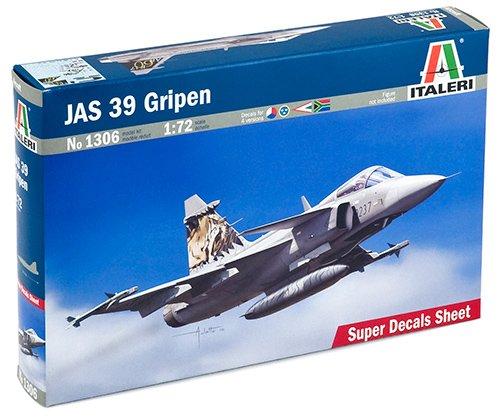 Italeri 1306S JAS 39 Gripen - Maqueta de avión (escala 1:72) importado de Alemania