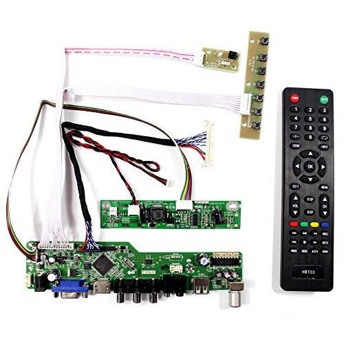 HDMI VGA AV USB RF Eingang LCD Controller Board Für 18,5 '' 1366x768 M185BGE-L22 LTN185AT04 M185XW01 VD VF 30 Pins LCD-Panel Vf-lcd