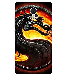 Chiraiyaa Designer Printed Premium Back Cover Case for YU Yunicorn / Yu unicorn (dragon fire) (Multicolor)