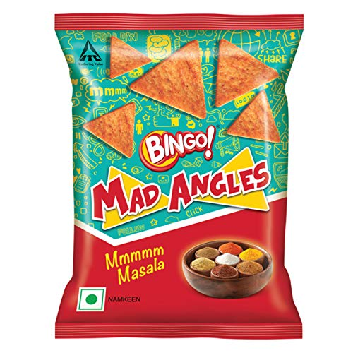 Bingo Mad Angles Masala Madness Namkeen, 90 g
