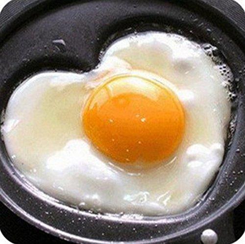 Mini Lovely forma de corazón y Pan frito huevo sartén Cook cacerola antiadherente desayuno sartén Love Tortilla Pan