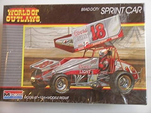 Monogram #2752 World of Outlaws Brad Doty Gambler Sprint Car