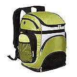 Vbag Large Teamster Portable Outdoor Sports zaino nuoto mesh Equipment bag, Green