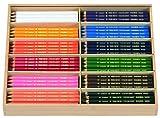 LYRA Farb-Riesen Holzkasten mit 144 Farbstiften, Sortiert