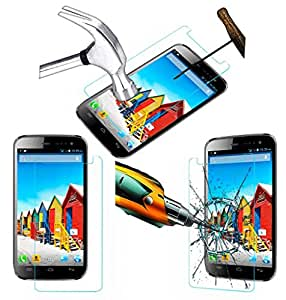 Acm Tempered Glass Screenguard For Micromax Canvas 3 A116 Mobile Screen Guard Scratch Protector