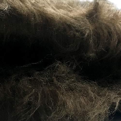 various colors 7ab88 be014 Tessuto Pelliccia Sintetica PELO LUNGO - A metraggio a partire da 50 CM DI  LUNGHEZZA x 140 CM di LARGHEZZA FISSA abiti - decorazione - Costumi Natale  ...