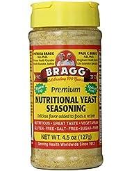 Bragg, Premium Nutritional Yeast Seasoning, 4.5 oz (127 g) by Bragg
