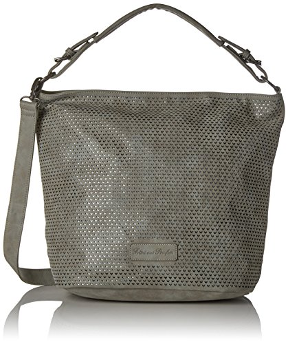 Fritzi aus Preussen Damen Felisa Business Tasche, Grau (Fog), 19x36x44 cm (Grau Crossover)