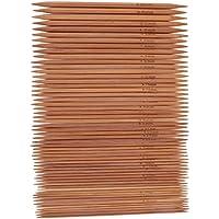 11 Gr/ö/ßen Everpert Stricknadeln aus karbonisiertem Bambus 55 St/ück