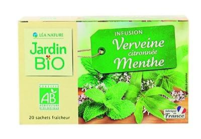 Jardin Bio Infusion Verveine Citronnée Menthe 30 g - Lot de 6