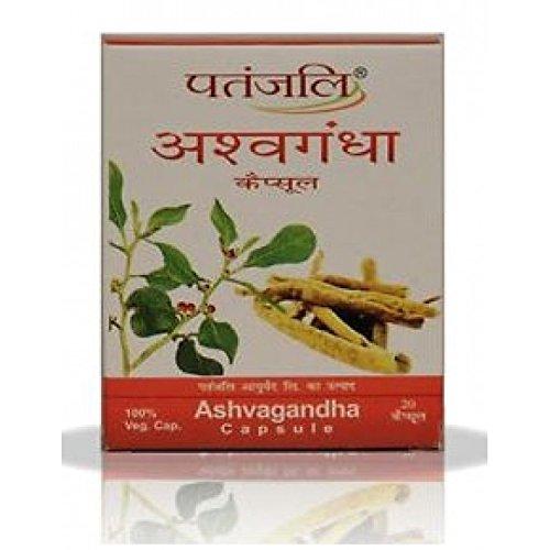 Patanjali Ashvashila, Ashvagandha & Shilajit Capsules