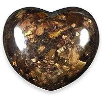Bronzite Crystal Heart - 4.5cm by CrystalAge preisvergleich bei billige-tabletten.eu