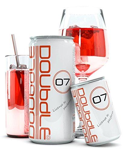 Doubdle O7 Erfrischungsgetränk Sportgetränk Regeneration Gesundheits Fitness Getränk Leistungssteigerung Fertil Detox Nahrung Multimineral Macawurzel Brain Booster kalorienarm (24 x 330 ml) -