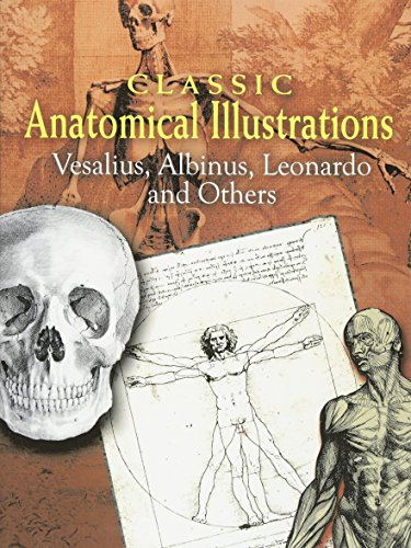 Classic Anatomical Illustrations (Dover Fine Art, History of Art)
