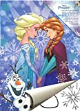 """Disney Malblock & Sticker Din A 4 """"Frozen - Die Eiskönigin"""" - Malbuch mit Aufkleber"""
