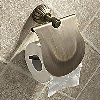 GS~LY Simple Style rotonda in ottone antico igienica titolari