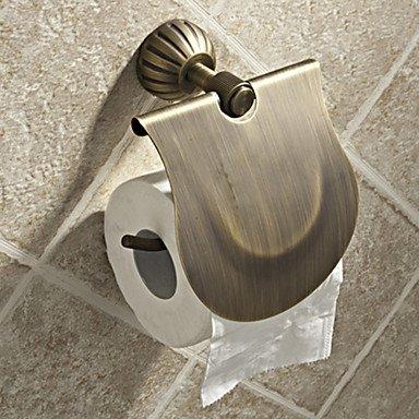 PIGE Einfache Runde Stil Antique Brass Toilettenpapierhalter